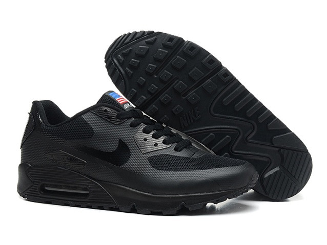 c9f9fe1d Кроссовки Nike Air Max 90 Hyperfuse PRM All Black (36-46), цена 20 ...