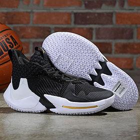 Баскетбольные кроссовки  Jordan Why Not Zero.2 Black