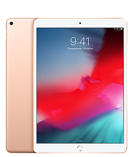 IPad Air 10,5 дюйма, Wi‑Fi, 64 ГБ Gold