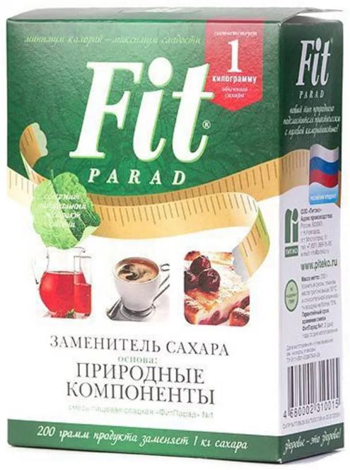 Заменитель сахара «ФитПарад №7», 200 г