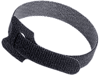 Хомут-липучка ХКл 14х210мм черный (100шт) IEK, фото 1