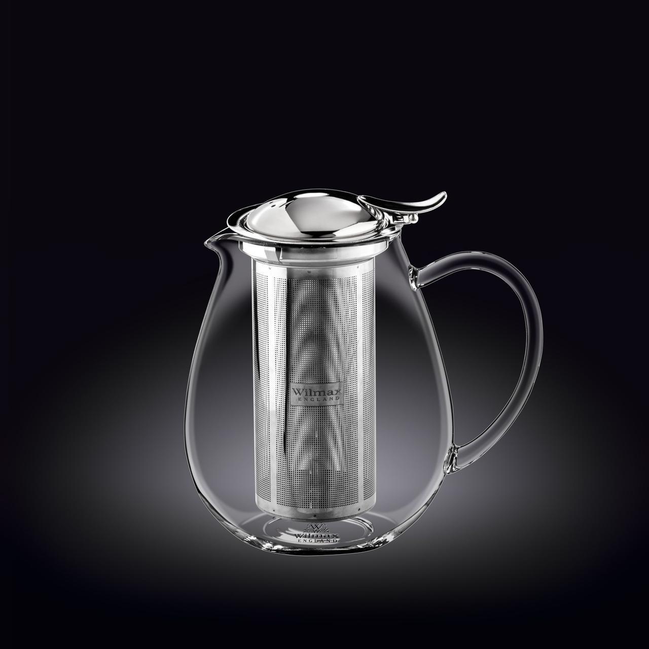 Чайник заварочный Thermo Wilmax Нержавеющий фильтр 850 мл