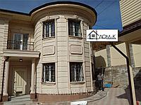 Фасад дома из пенополистирола под травертин, фото 1