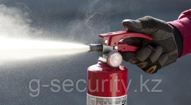Перезарядка огнетушителя