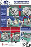 Металлообработка – Безопасность Работ ред.2016г.  Лист №3 Станки токарной группы