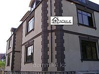Фасадные декоративные элементы под покраску, угловые элементы, оконные обрамления