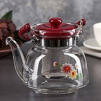 Чайник заварочный стеклянный 750мл