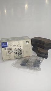 Тормозные колодки передние W212 1.8-2.0, W 204