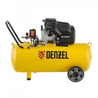 Компрессор воздушный DKV2200/100,Х-PRO 2.2 кВт, 400 л/мин, 100л. Denzel, 58079