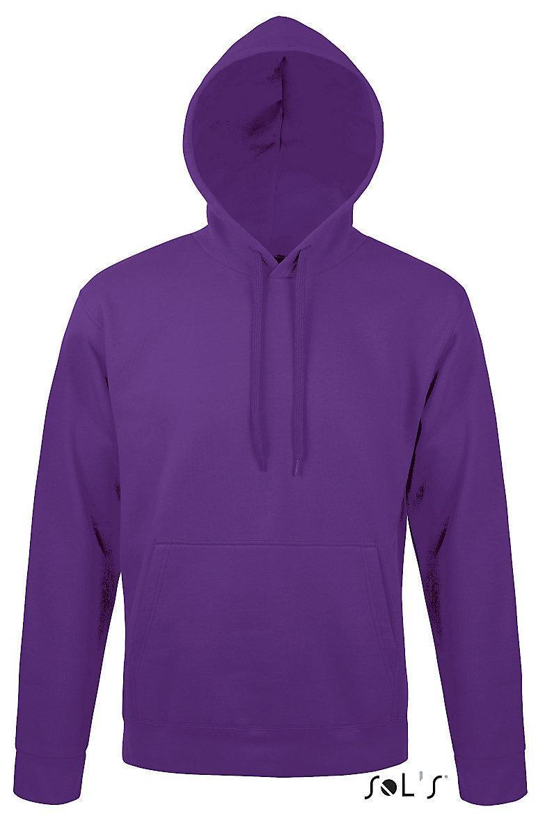 Свитшот унисекс с капюшоном SNAKE, фиолетовый, размер L