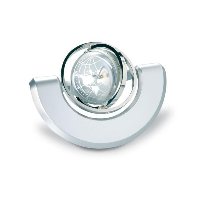 Настольные металлические часы вращающиеся в трех плоскостях
