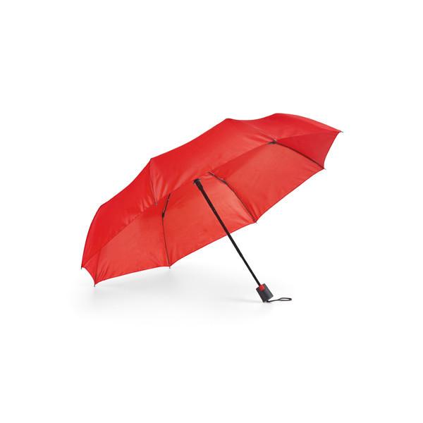 Складной зонт. Цвет красный