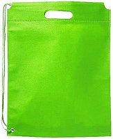 Сумка-рюкзак Freedom Lime. Может использоваться как сумка или как рюкзак. 80 г/м2 нетканый полипропилен. Цвет зеленый