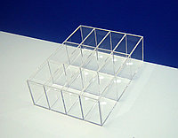 Короб 12 ячеек для ластиков и точилок, фото 1