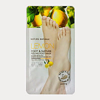 Nature Republic New Foot & Nature Peeling Foot Mask