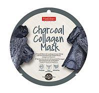 Маска тканевая Purederm Charcoal Collagen Mask