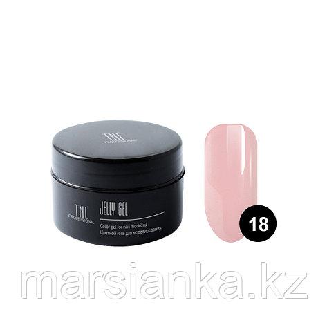 Гель-желе TNL #18 Камуфлирующий карамельно розовый, 18мл, фото 2