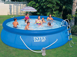 Надувной бассейн Intex Easy Set 457 х 107 см