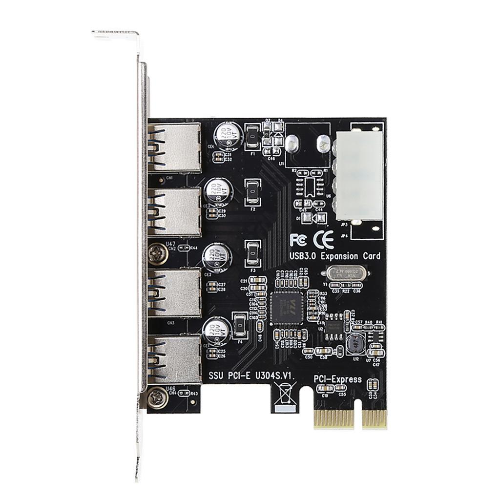 Плата PCIe USB 3.0 4 порта