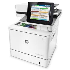 Цветное МФУ  HP Color LaserJet Enterprise M577f