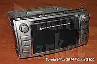 Автомагнитола Toyota Hilux 2014 г. Winca S100, фото 1