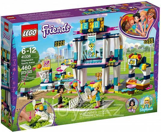 Lego Friends 41338 Спортивная арена для Стефани, Лего Подружки