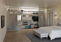 Гардеробные системы хранения для спальной