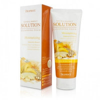 DEOPROCE NATURAL PERFECT SOLUTION CLEANSING FOAM MOISTURIZING