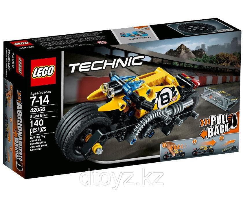 Lego Technic 42058 Мотоцикл для трюков, Лего Техник