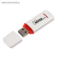 Флешка USB2.0 Mirex KNIGHT WHITE, 64 Гб, чт до 25 Мб/с, зап до 15 Мб/с, белая