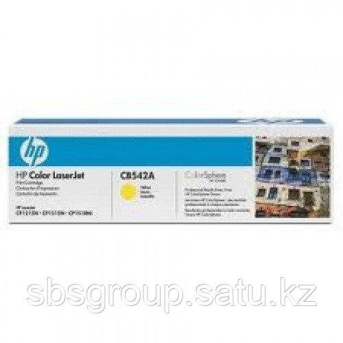 Картридж HP CB542A (yellow) ORIGINAL для HP CLJ CM1312/1312nfi, CP1215/1515n