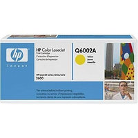 Картридж HP Q6002A (yellow) ORIGINAL для HP CLJ 1600/2600/2605/CM1015