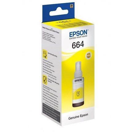 Чернила epson C13T66444A yellow, фото 2
