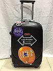 Большой из поликарбоната дорожный чемодан на 4-х колесах Ambassador (амбассадор, оригинал), фото 3