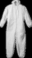 Комбинезон защитный, микропористый материал, размер 52-54, серия «ПРОФЕССИОНАЛ», ЗУБР