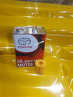 Замена масла в двигателе (масло + фильтр) Toyota Allion оригинальное моторное масло тойота 5W30