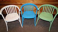 Кресло деревянное в краске Алекс Люкс (КМФ 250-2) в тоне