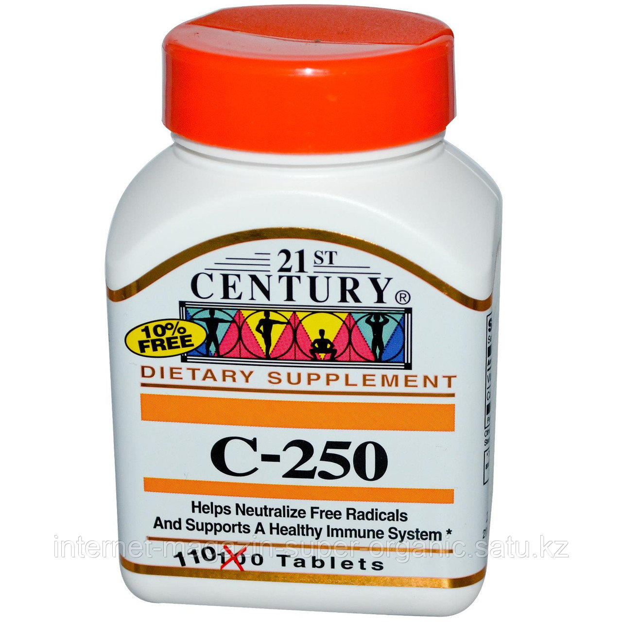 Витамин С, 250 мг, 110 таблеток, 21st Century Health Care
