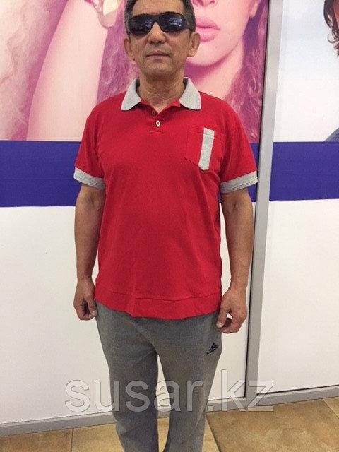 Красная Рубашка-поло все размеры