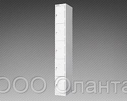Шкаф металлический для сумок 5 ячеек (400х400х1800) арт. ШСВ-5С