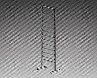 Стеллаж под обои односторонний на 12 рулонов (ширина 620 мм)