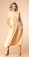 Платье Romanovich-1-1793, песочный, 56