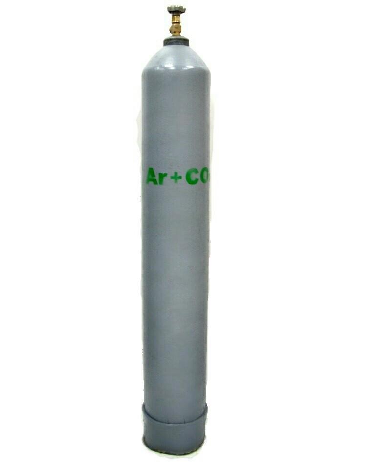 Газовая сварочная смесь аргона с углекислотой (92 % +  8 %)
