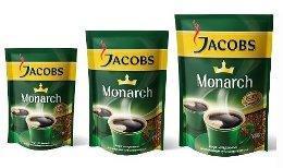 Кофе растворимый «Jacobs Monarch» 300 г (вакуумная упаковка)