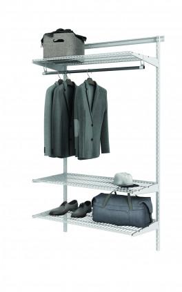 Базовый комплект гардеробной системы Титан - GS - 350S/450S