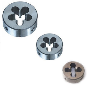 Плашки круглые Р6М5 6g М2х0.4