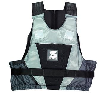 Спасательный жилет Secumar Jump, XL, 90-120 кг, Класс: EN393, Плавучесть: 50N, Цвет: Черно-серый, (12245)