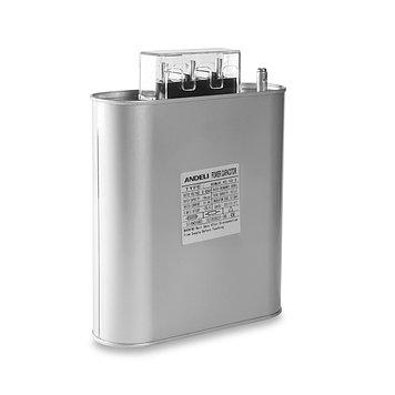 Конденсатор компенсации реактивной мощности Andeli BSMJ0.45-25-3, Ёмкость: 393 мкФ, Мощность: 25 кВАр, Напряже