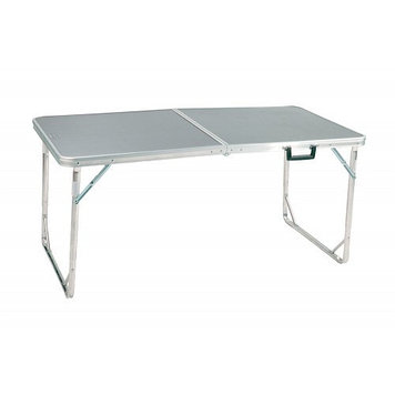 Стол складной Coleman Folding 8, Материал: Алюминий, прочный пластик, 80 кг, Цвет: Серебристый, Упаковка: Розн