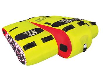 Буксируемый водный аттракцион плюшка Jobe Bigwing 3P, Кол-во мест: 3, 8 мягких ручек из EVA, Безопасность на в